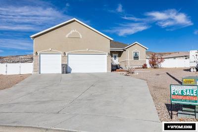 Rock Springs Single Family Home New: 3421 Sherwood
