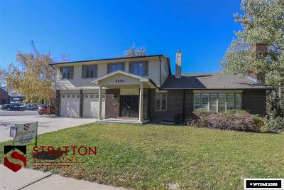 Casper Single Family Home New: 3850 S Poplar
