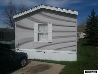 Casper WY Single Family Home For Sale: $23,000