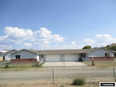 Dubois,  Kinnear,  Crowheart, Pavillion Multi Family Home For Sale: 1504/1506 Warm Springs