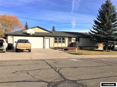 Kemmerer Single Family Home For Sale: 1130 Coulson