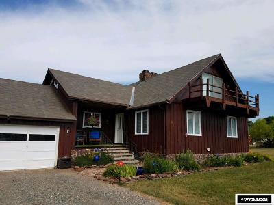 Dubois WY Single Family Home For Sale: $330,000