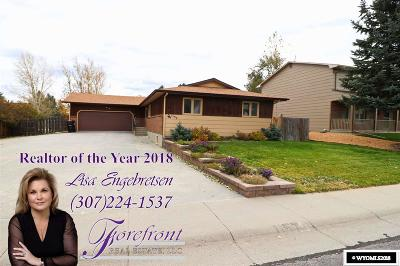 Casper Single Family Home For Sale: 1157 Waterford