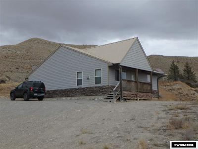 Dubois,  Kinnear,  Crowheart, Pavillion Single Family Home Pending-Continue To Show: 604 Clif Drive
