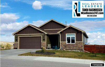 Casper Single Family Home For Sale: 3013 Whispering Springs