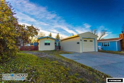 Casper WY Single Family Home For Sale: $145,000