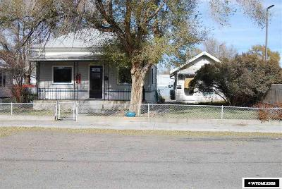 Rock Springs Multi Family Home For Sale: 212 Thomas