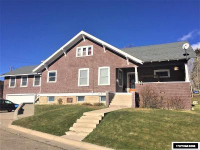Kemmerer Single Family Home For Sale: 1001 Park Dr