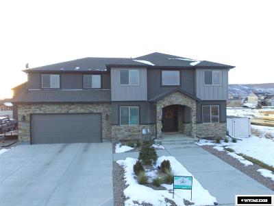Rock Springs Single Family Home For Sale: 1102 Remington