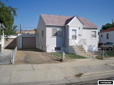Rock Springs Single Family Home For Sale: 1037 Arapahoe