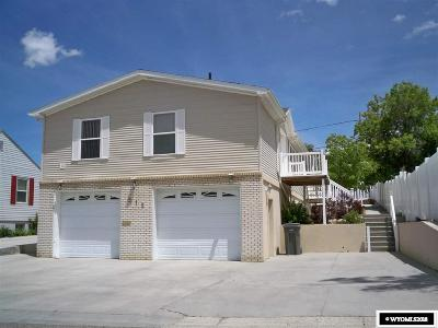 Rock Springs Single Family Home For Sale: 515 Q
