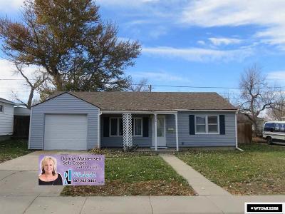 Casper Single Family Home For Sale: 304 Robin