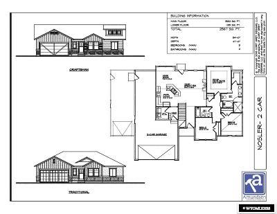 Rock Springs Single Family Home For Sale: 2194 Arthur