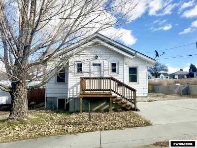 Rock Springs Single Family Home For Sale: 819 Woodruff Ave.