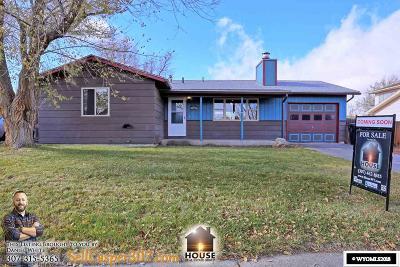 Casper Single Family Home For Sale: 3092 Cotton Creek