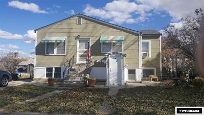 Casper WY Multi Family Home For Sale: $129,000