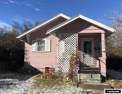 Casper Single Family Home For Sale: 514 S Melrose