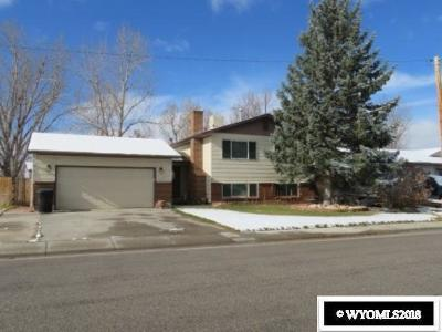 Casper Single Family Home For Sale: 336 Indian Paintbrush