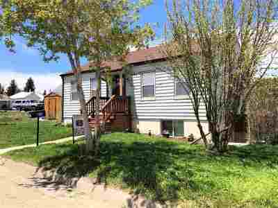 Kemmerer Single Family Home For Sale: 619 Elk St