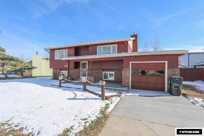 Casper Single Family Home Pending-Continue To Show: 2829 Cherokee