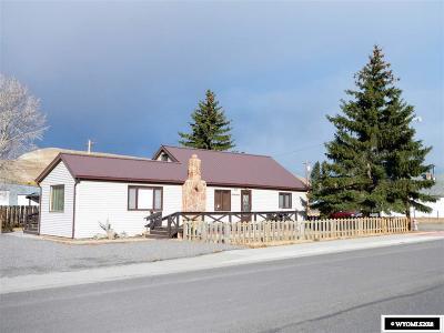 Dubois,  Kinnear,  Crowheart, Pavillion Single Family Home Pending-Continue To Show: 312 N First