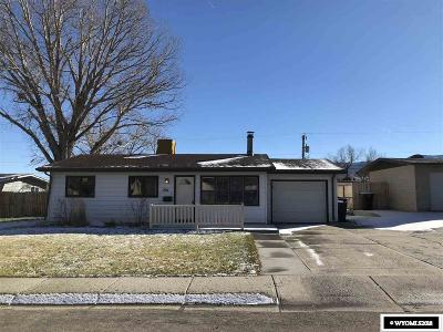 Casper Single Family Home New: 2911 Belmont