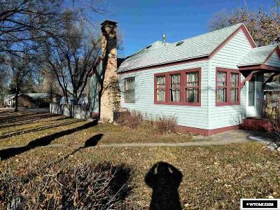 Glenrock Single Family Home For Sale: 116 W Fir