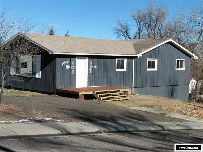 Glenrock Single Family Home Back On Market: 516 W Fir