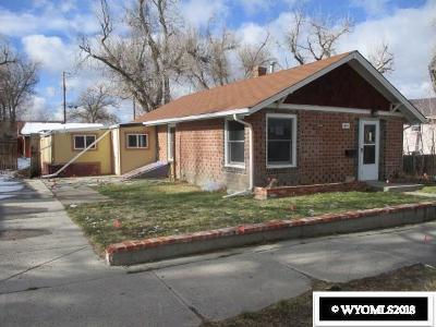 Casper WY Single Family Home For Sale: $125,000
