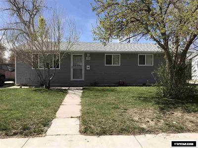 Casper WY Single Family Home For Sale: $135,000
