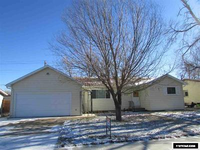 Casper WY Single Family Home For Sale: $209,900