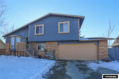 Casper WY Single Family Home For Sale: $290,000