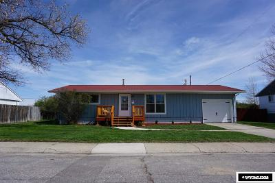 Lander Single Family Home For Sale: 578 Cliff
