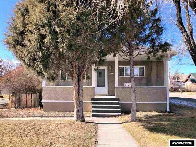 Kemmerer Single Family Home Pending-Continue To Show: 1221 Sage