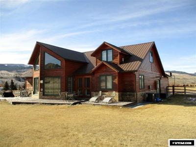 Dubois,  Kinnear,  Crowheart, Pavillion Single Family Home For Sale: 115 Westview