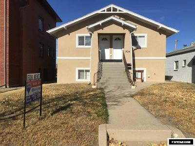 Casper Multi Family Home For Sale: 934 E 2nd St