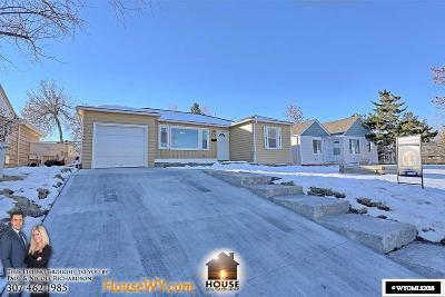 Casper, Evansville, Bar Nunn, Glenrock, Douglas, Midwest, Alcova Single Family Home For Sale: 929 E 13th