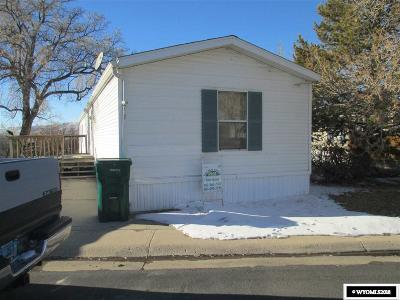 Rock Springs Single Family Home For Sale: 1620 W 2nd St #71