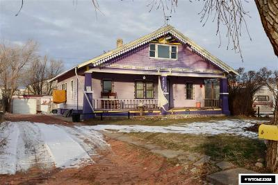 Casper Single Family Home For Sale: 252 N Park