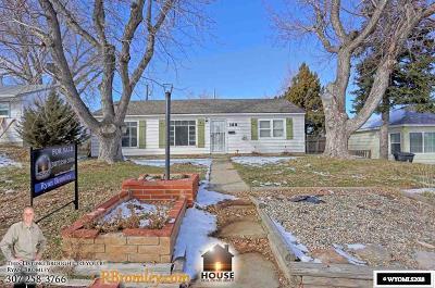 Casper Single Family Home For Sale: 168 N Montana