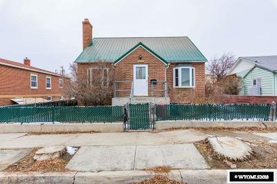 Rock Springs Single Family Home For Sale: 1019 9th