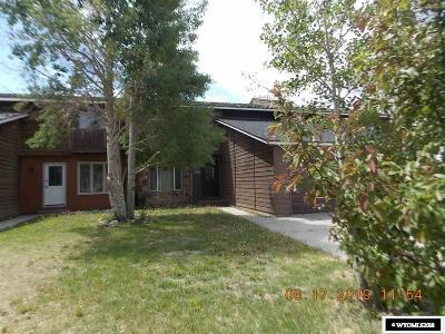 Rock Springs Single Family Home For Sale: 320 Polk