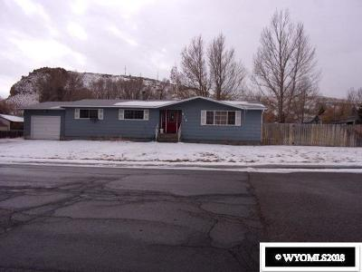 Green River Single Family Home Pending-Continue To Show: 610 Hutton