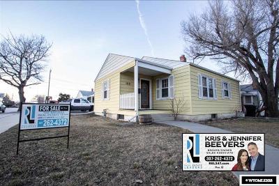 Casper Single Family Home For Sale: 162 S Beverly
