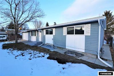 Rock Springs Single Family Home For Sale: 304 Midway
