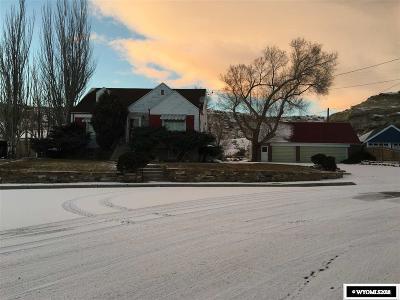 Rock Springs Single Family Home For Sale: 901 Ridge