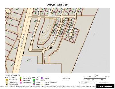Casper Residential Lots & Land For Sale: Back Nine Subdivision