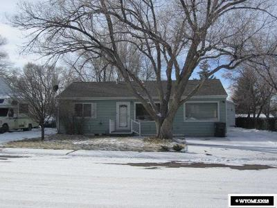 Rock Springs Single Family Home New: 118 Topaz