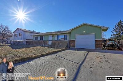 Casper Single Family Home For Sale: 408 Indian Paintbrush