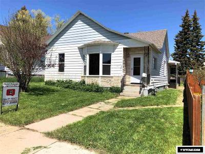 Kemmerer Single Family Home For Sale: 317 Emerald